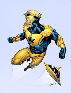 Booster Gold by spidermanfan2099.deviantart.com on @deviantART