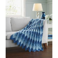 My favorite source for arts and crafts: Ripples Galore Afghan