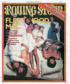Fleetwood Mac on the Cover of Rolling Stone, 1977  photo Annie Liebovitz