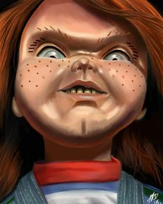 All Horror Movies, Horror Movie Posters, Movie Poster Art, Horror Films, Horror Art, Scary Chucky, Chucky Movies, Childs Play Chucky, Horror Drawing