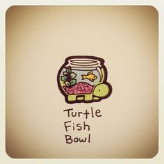Cute Turtle Drawings, Weird Drawings, Tortoise Drawing, Cute Turtles, Card Drawing, Doodles, Graphic Design, Illustration, Cards