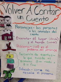 Story Structure - Translated this to Spanish Dual Language Classroom, Bilingual Classroom, Bilingual Education, Spanish Classroom, Spanish Anchor Charts, Reading Anchor Charts, French Language Learning, Teaching Spanish, German Language