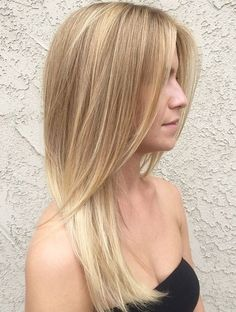light brown blonde hair color for fair, cool toned complexions. Pale beige blonde