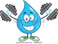 aqua aerobic cartoons - Google Search