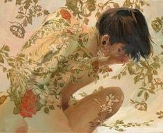 まさに現代のクリムト!花と女性の融合が美しすぎるSERGIO LOPEZさんのアートに目が釘付け!! - Spotlight (スポットライト)