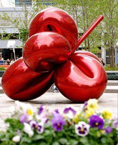 Balloon Flower by Jeff Koons