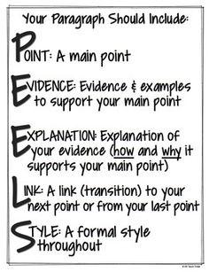 document analysis essay worksheet