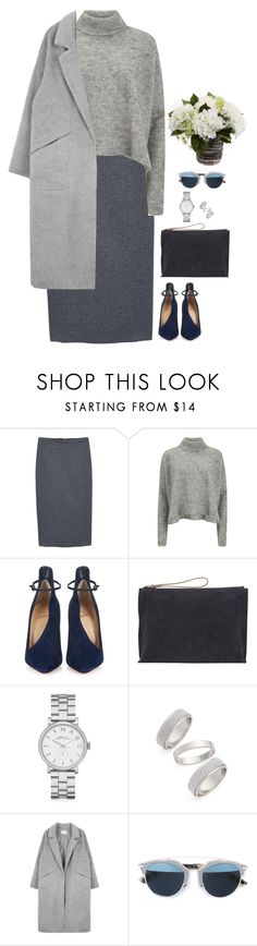 """""""#2575"""" by azaliyan ❤ liked on Polyvore featuring MANGO, Designers Remix, Christian Louboutin, Jigsaw, Marc by Marc Jacobs, Topshop, Christian Dior, women's clothing, women's fashion and women"""