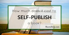 From Elizabeth S. Craig - Google+ How much does it cost to self publish?