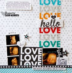 Blog - susan weinroth - hello love layout