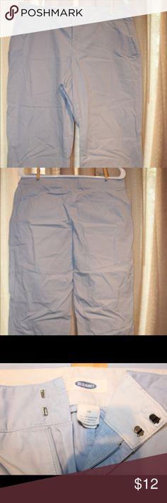 d17df2a5a Old Navy Capri pants. Size 10 Beautiful light blue color old navy Capri  pants loose