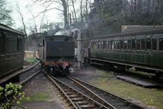 Heritage Train, Heritage Railway, Southern Trains, Old Train Station, Steam Railway, Southern Railways, British Rail, Isle Of Wight, Steam Engine