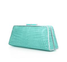 Tiffany & Co.   Item   Sabrina clutch in Tiffany Blue® crocodile. More colors available.   United States