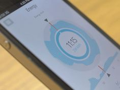 Pye_vihd_concept / energy use or consumption tracking app concept & design inspiration