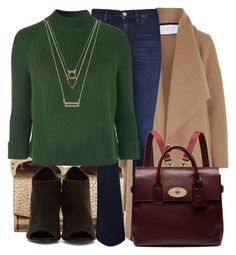 """""""Flares and Mulberry Cara"""" by jacisummer ❤ liked on Polyvore featuring Cutler and Gross, Burberry, Harris Wharf London, MiH, Mulberry, Topshop, Forever 21, women's clothing, women's fashion and women"""