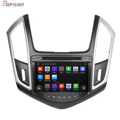 8'' Quad Core Android 4.4 Car Dvd Player For CRUZE 2015 With Quad Core 16Gb Flash Mirror Link Wifi BT GPS Map SWC Free Shipping