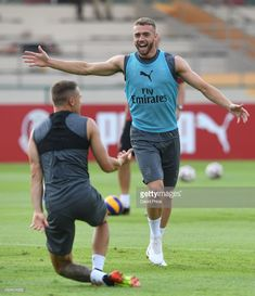 Calum Chambers of Arsenal during Arsenal Training Session at Singapore American School on July 2018 in Singapore. Calum Chambers, David Price, Arsenal Fc, Singapore, Soccer, July 24, Football, Train, Seasons
