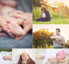 older newborn, preemie, 6 weeks old, newborn family session, outdoor newborn session, family posing, newborn family photos