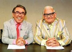 And a goodnight from him ! The two Ronnies Best British TV Shows - 1970s & 1980s