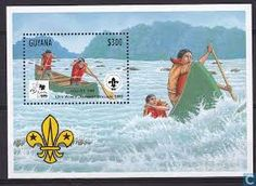 """world jamboree scouts postage stamps"""""""