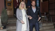 "Princess Mette-Marit and Prince Haakon of Norway attended opening of the ""New models, season 2"" documentary series at the Park theater in Oslo on March 21, 2015. (It is the youth organization VIBRO behind the documentary series, which is about successful youth with multicultural backgrounds. Youth organization VIBRO was supported by the Crown Prince Couple Fund)"