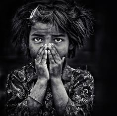 the little girl and herself by piet flour, via 500px