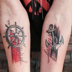 Danke dir Pascal #farbakzente #tat #tattoo #tattooed #tattouer #eisenhauer…