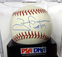 "Tony Gwynn Autographed Official MLB Baseball San Diego Padres ""HOF 07"" Graded 10 PSA/DNA"
