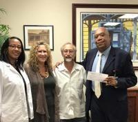 Bennie and Martha Benjamin Foundation Gives Grant to Nurse Extern Program at University of the Virgin Islands