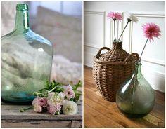 Estilo Cottage, Alice In Wonderland, Glass Vase, Bottle, Home Decor, Ideas, Decorated Bottles, Bud Vases, House Decorations