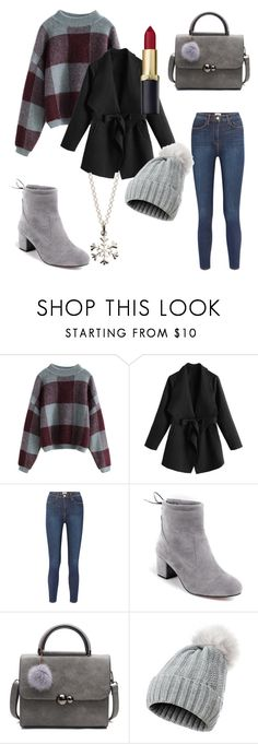 """""""A sleigh ride in winter wonderland"""" by julietpenrose ❤ liked on Polyvore featuring L'Agence and Lily Charmed"""