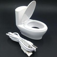 2016 мода мини usb интерфейс туалет колонки компьютерные маленькие колонки стерео мини-странный новый подарок