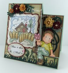 From My Craft Room: Side Step Cards