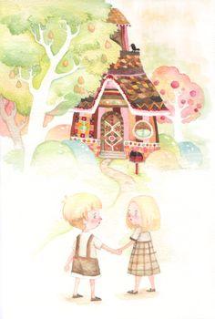 Illustration by  Panda.J