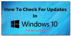 How do I Check For Updates In windows 10 #1511updatewindows10 #checkupdateswindows10 #checkappupdateswindows10 #windows10