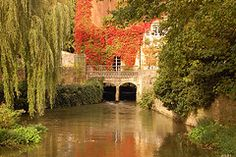 Just outside Magdalen College Oxford. Love this picture!