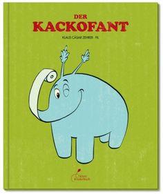 Der Kackofant als Buch