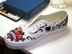 Cómo pintar tus zapatillas - beQbe