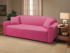 The loveseat size stretches to fit to wide. The sofa size size stretches to fit to The chair size stretches to fit to wide. SOLID COLOR JERSEY SLIPCOVERS,the actual furniture is not included. Couch And Loveseat, Armchair Slipcover, Furniture Slipcovers, Dining Chair Slipcovers, Cushions On Sofa, Furniture Decor, Diy Couch, Urban Furniture, Recliner
