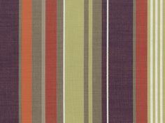 Perennials Fabrics Camp Wannagetaway: Boathouse Stripe - Berry Patch