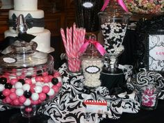 candy buffet ideas | Tips on creating a gorgeous candy buffet | Premier Bride's Perfect ...