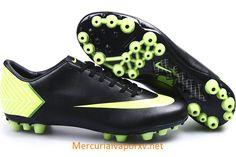Nike Mercurial Vapor X AG Black Light Green