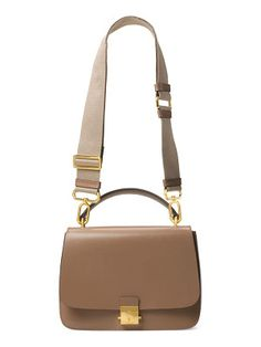 be612eee6578 Michael Kors Collection mia leather top handle shoulder bag M Kors, Michael  Kors Collection,