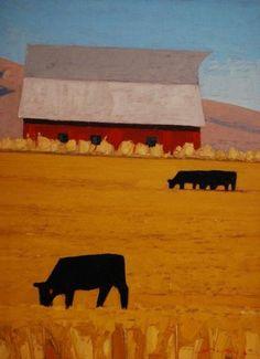 """Jeffery  Pugh - """"Ala Carte"""" Oil 12 x 16 in SOLD"""