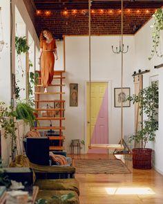 Boho Chic Home Decor Plans and Ideas - Home/Wohnen - Boho Chic Interior, Bohemian Bedroom Design, Living Room Styles, Living Spaces, Interior Exterior, Interior Design, Casa Loft, Dream Apartment, Furniture Styles