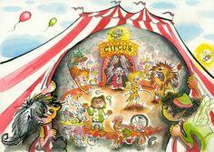 Interactieve praatplaat Circus. Met filmpjes, liedje, en prentenboeken. Door Ingrid Heersink