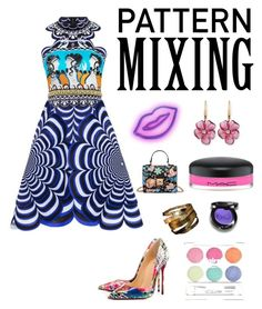 """The trendy look for Spring"" by kotnourka ❤ liked on Polyvore featuring Christian Louboutin, Rina Limor, Christina Choi Cosmetics and MAC Cosmetics"