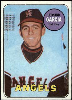 1969 Topps Leonard Garcia, California Angels Bat Boy. Baseball Cards That Never Were.