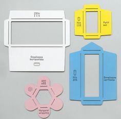 Envelope templates. DIY.