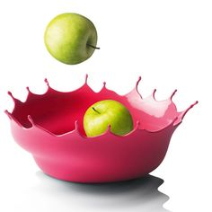 Design de Móveis: Splashing Fruit Bowl da Niels Römer